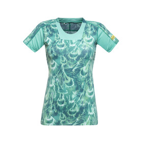 GORE RUNNING WEAR AIR PRINT - Camiseta Running Mujer - Turquesa
